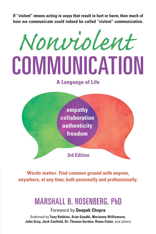 Nonviolent Communication by Marshall B. Rosenberg, PhD